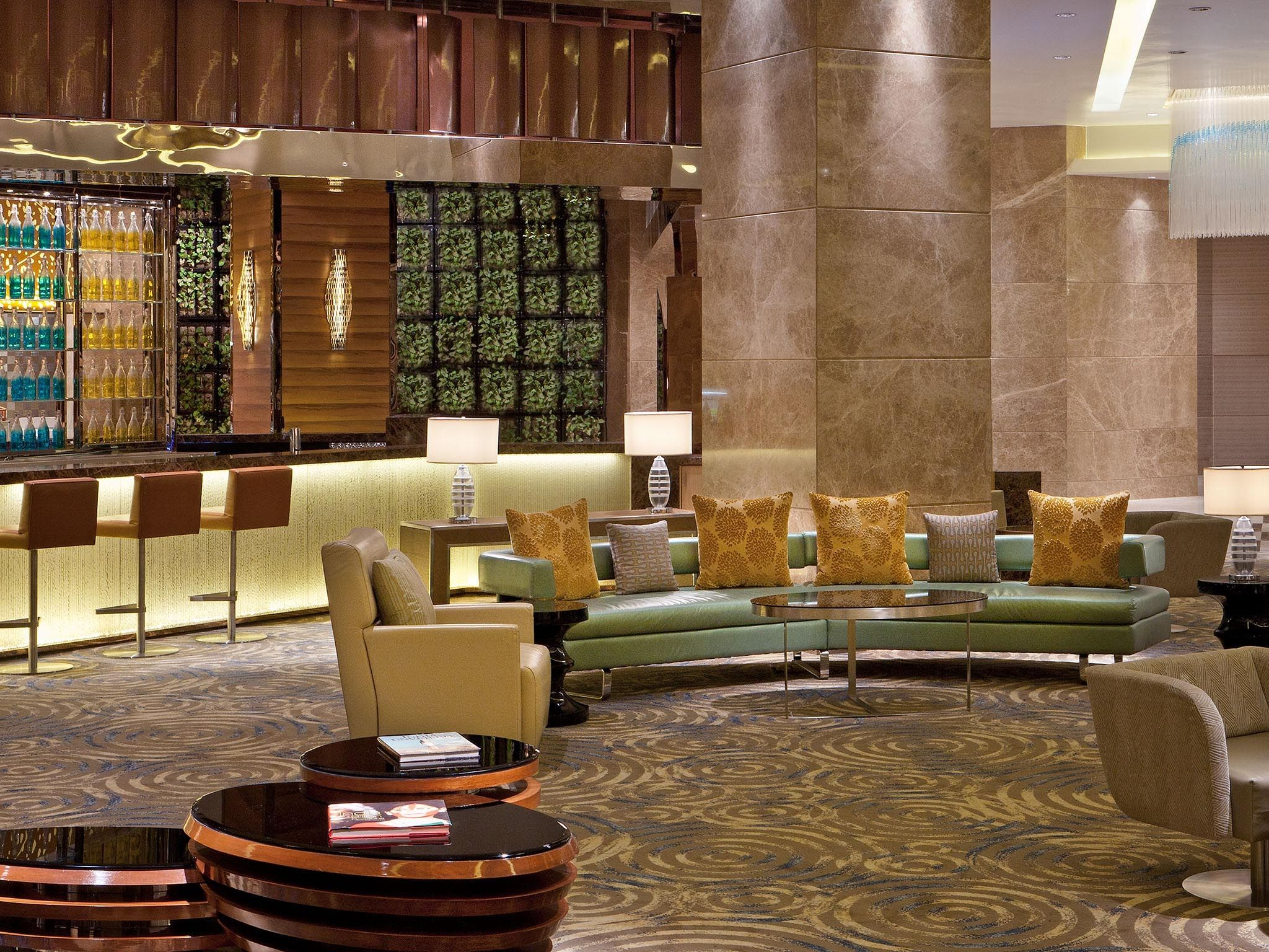 Lobby at Sheraton Grand Bangalore